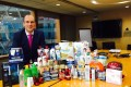 """Michael Yates, general manager Hong Kong & Taiwan at Procter & Gamble, says most of the products the company brings into Hong Kong are """"premium or super premium"""". Photo: Celine Ge"""