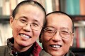 Liu Xiaobo (right) and his wife Liu Xia pictured before his imprisonment on subversion charges. Photo: Reuters
