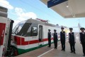 The inauguration ceremony of the railway linking Djibouti with the Ethiopian capital of Addis Ababa, mostly financed by China and built by a Chinese company. Photo: Felix Wong