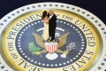 US President Donald Trump and first lady Melania Trump dance at the inaugural Armed Services Ball in Washington on January 20. Photo: EPA