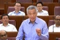 Singapore's prime minister, Lee Hsien Loong. Photo: AFP