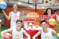 APM mall in Kwun Tong offers the chance to practise your shooting skills in a digital basketball court. Photo: SCMP Handout