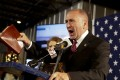 Republican congressman Clay Higgins filmed a five-minute video from inside a former gas chamber at the Auschwitz concentration camp in Poland. Photo: AP