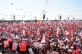 Opposition supporters take part in a rally in Istanbul, Turkey, Sunday, at the culmination of a so-called Justice March launched by Turkey's main opposition party. Photo: Xinhua
