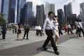 Singapore state investment firm Temasek says it is 'cautiously positive' on the global outlook. Photo: Reuters
