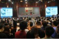 The China Guardian Beijing auction hall after Huang's Yellow Mountain was sold. Picture: China Guardian