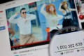 """Psy's """"Gangnam Style"""" became the first video to hit a billion views on YouTube. Photo: AFP/THOMAS COEX"""