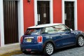 The new Mini Cooper rewards with a compact look, a more pedestrian-friendly bonnet and short overhangs. Photo: Handout