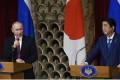 Russian President Vladimir Putin and Japanese Prime Minister Shinzo Abe. Photo: Xinhua
