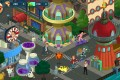 Futurama: Worlds of Tomorrow (available for Android and iOS) has players unlocking characters and portions of the city of New New York through various missions.