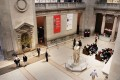 The entrance to the Metropolitan Museum of Art, which recorded a US$8.3 million deficit in the 2016 financial year. Picture: AFP