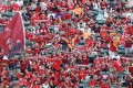 Liverpool fans cheer on their team during the Premier League Asia Trophy final at Hong Kong Stadium. Photos: Edward Wong