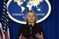 US Acting Assistant Secretary of State Susan Thornton speaks at a briefing in Washington in March. Photo: Xinhua