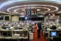 Buyback activity on the Hong Kong exchange fell for the third straight week. Photo: AFP