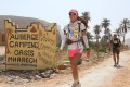 Hongkonger Samantha Chan taking part in the Marathon des Sables 250km race across the Sahara Desert in 2015, in which she finished 21st.