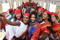 Passengers and crew take a selfie on the first departure of the Djibouti-Addis Ababa railway in January this year. Chinese smartphone maker Transsion has a 40 per cent share of the market in sub-Saharan African countries. Photo: Felix Wong