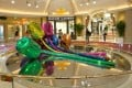Tulips, by Jeff Koons, part of the impressive art collection at Wynn Palace. Photo: May Tse