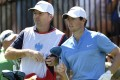 Rory McIlroy and his former caddy, J.P Fitzgerald, worked together for nine years. McIlroy will have his friend on the bag for the foreseeable future. Photo: AP