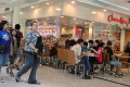 A restaurant in Ayala Centre, a mall in Cebu. Picture: Alamy