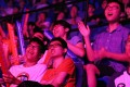 Spectators watch an opening video gaming match at Hong Kong's first mega e-sports festival. Photo: Dickson Lee