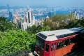 The `Peak Tram` in Hong Kong. Photo: SCMP