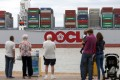OOIL returned to profit in the first half of 2017 as the shipping industry improves. Orient Overseas Container Line is wholly-owned by OOIL. Photo: Bloomberg