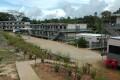 The Australian-run East Lorengau Transit Accommodation for refugees in East Lorengau on Manus Island in Papua New Guinea. Photo: AFP