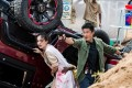 A scene from the movie starring Wu Jing and Celina Jade. Photo: Handout