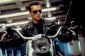 Arnold Schwarzenegger in a still from Terminator 2: Judgment Day (1991).