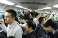 A file picture of passengers taking the Beijing subway. Photo: Xinhua