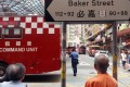 Eleven fire engines and six ambulances were dispatched to the scene in Hung Hom on Thursday. Photo: Handout.