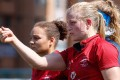 Hong Kong vice captain Adrienne Garvey is back in the side to face Wales. Photos: HKRU