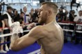 Conor McGregor is making his professional boxing debut. Photo: AP