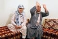 Chrifa Hychami (left), grandmother of Spain terror suspects Mohammed and Omar Hychami - both of whom were shot dead by police - sits with Fatima Abouyaaqoub, aunt of suspects Younes and Houssaine Abouyaaqoub, in their family home in Mrirt, Morocco, on Sunday. Houssaine Abouyaaqoub was also shot dead, while Younes Abouyaaqoub is the subject of a massive manhunt. Photo: Reuters