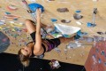 Brittany Aae, 31, is a dedicated rock climber, ultrarunner, backcountry skier and mother of a 13-month-old baby, who sometimes comes with her when she trains. Photo: Instagram
