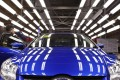 An employee at a Ford assembly line in Chongqing. Photo: Reuters