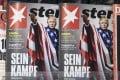 Copies of the German weekly news magazine Stern. Photo: EPA