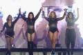 The four members of Fifth Harmony (from left): Ally Brooke Hernandez, Lauren Jauregui, Dinah Jane Hansen and Normani Kordei. Photo: AFP