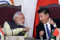 Indian Prime Minister Narendra Modi and President Xi Jinping at the BRICS summit in Goa, last October 16. The bloc's upcoming summit in Xiamen will be an opportunity for both sides to engage and move forward on a positive note. Photo: AP