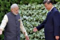 Indian Prime Minister Narendra Modi (left) and Chinese President Xi Jinping at last year's BRICS summit in Goa. The pair will meet at next week's summit in Xiamen. Photo: Reuters
