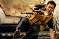 Wu Jing in Wolf Warrior 2.