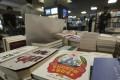 Copies of the Korean version of 'Capitalist People's Republic of Korea' at Kyobo Book Store in Seoul. Photo: AP Photo