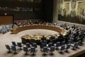 The United Nations Security Council holds a meeting about the North Korea situation on August 29. Photo: EPA