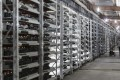 Bitcoin mining machines at a facility in Inner Mongolia, China. The country has some of the largest bitcoin mining operations in the world. Photo: Bloomberg