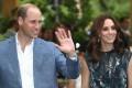 Britain's Prince William, Duke of Cambridge, and Catherine, Duchess of Cambridge. Photo: EPA