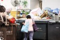 A public refuse collection point in Hong Kong, where food accounts for a third of municipal solid waste. Photo: David Wong