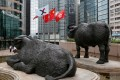 The Hang Seng Index declined 1 per cent, or 284.35 points, to 27,457 by the lunch break on Wednesday. Photo: Reuters