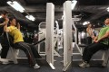 Members use a gym at Lee Gardens Plaza in Causeway Bay. Photo: Jonathan Wong