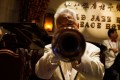 Members of the Old Jazz Band perform at Shanghai's ornate Fairmont Peace Hotel in Shanghai. Photo: AFP