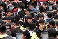 Youngsters attend the Cyberport Youth Coding Jam 1000 in Tamar in April, 2015. Coding should be introduced into primary and secondary schools' curriculums as soon as possible. Photo: May Tse